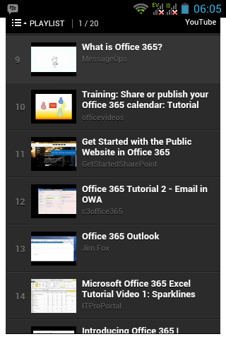 【免費書籍App】Office 365 Tutorial-APP點子
