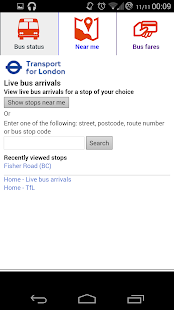 Bus Times London- screenshot thumbnail