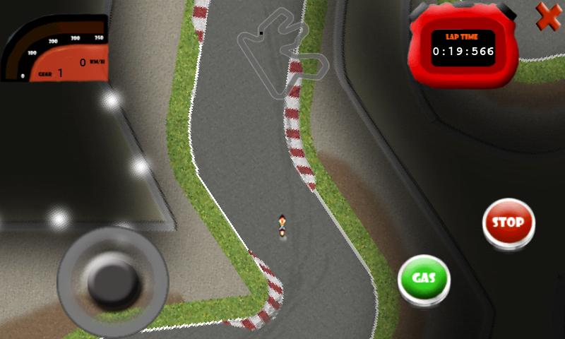 Moto Mobile 2012 GP GAME - screenshot