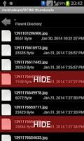 Screenshot of File And Folder Hidder