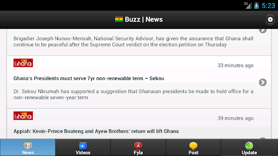 Ghana Buzz- screenshot thumbnail