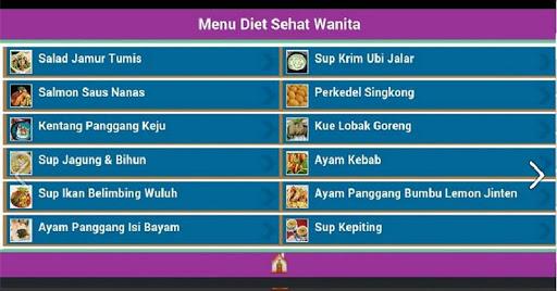 【免費健康App】Menu Diet Sehat Wanita-APP點子