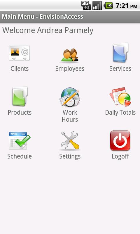 Envision Access- screenshot