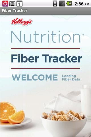 Fiber Tracker- screenshot