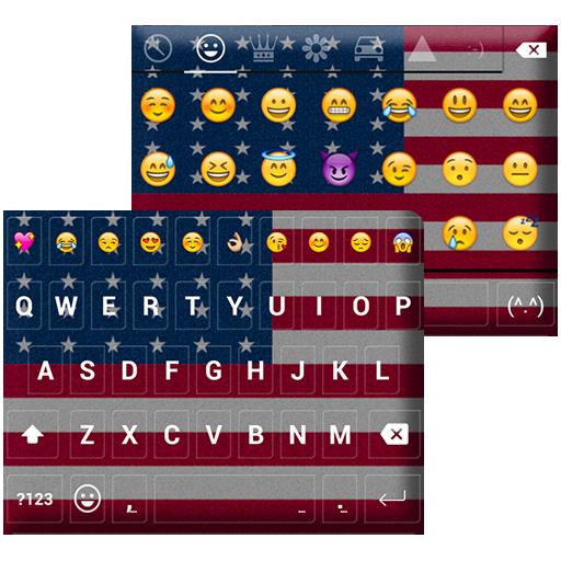 United States Emoji Keyboard LOGO-APP點子