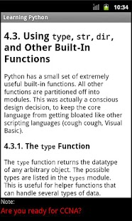 Learning Python - screenshot thumbnail