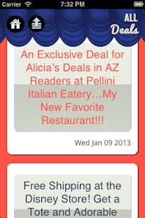 Alicia's Deals - screenshot thumbnail