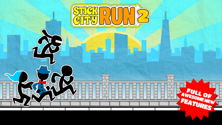 Stick City Run 2: Running Game screenshot