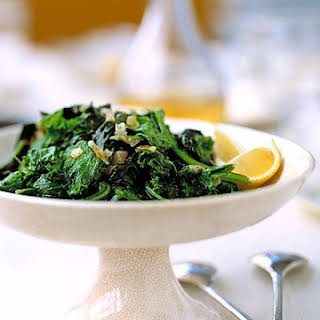 Mustard Greens and Onions.