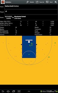 Basketball Scorebook & Charts- screenshot thumbnail