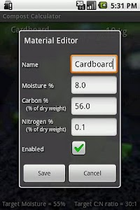 Compost Calculator screenshot 1