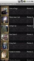 Screenshot of Photo Challenge Beta