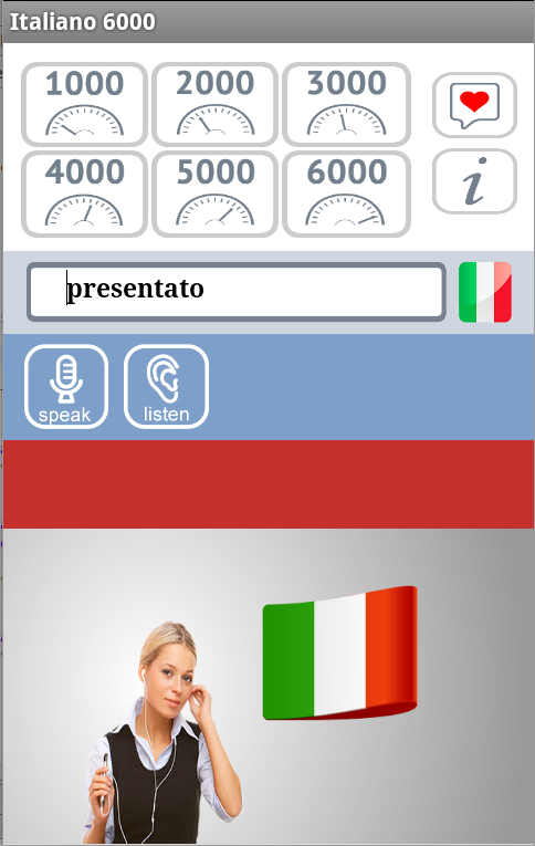 Italiano 6000 Free - screenshot