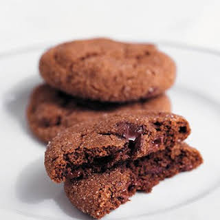 Chewy Chocolate-Gingerbread Cookies.