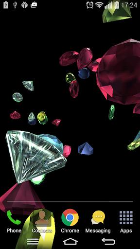 多彩珠宝动态墙纸