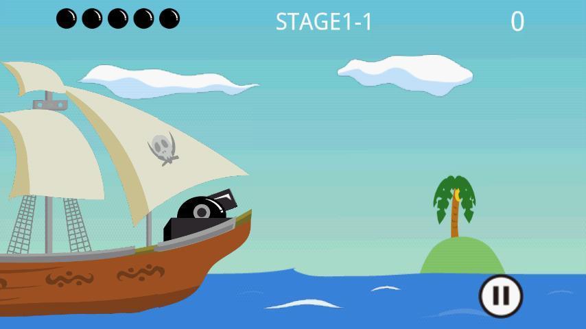 Pirates Shot2 Lite - screenshot