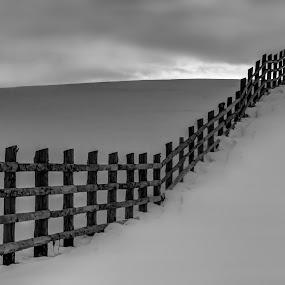 by Jeno Major - Black & White Landscapes
