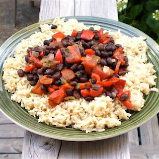Moors and Christians (Spanish Black Beans and Rice).
