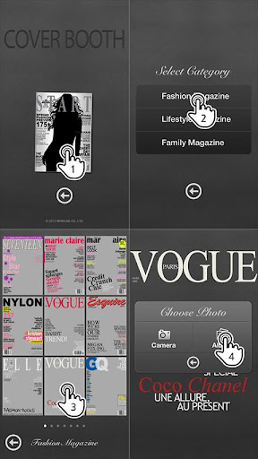 玩免費娛樂APP 下載CoverCamera – 制作杂志封面模特 app不用錢 硬是要APP