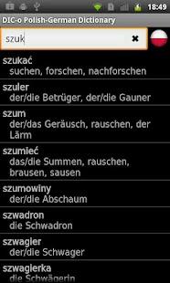 玩書籍App|Polish - German offline dict.免費|APP試玩