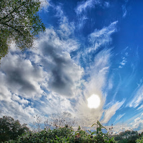 Cloudland Dreams by Scott Walker - Landscapes Cloud Formations ( clouds, fisheye, sunset, cloud, angels, spring )