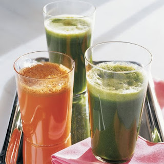 Juiced Garden Greens.