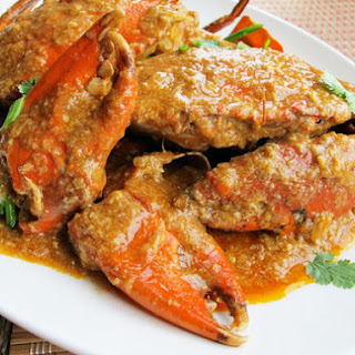 Singaporean Chili Crab.