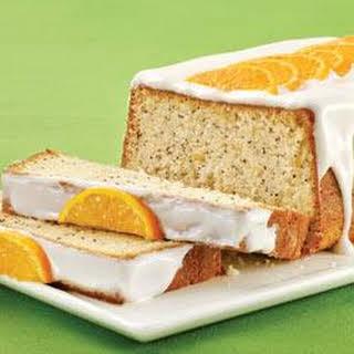 Fresh Orange-Poppy Seed Cake.