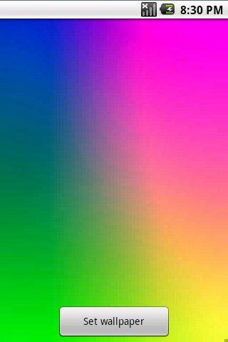 Plasma Live Wallpaper: captura de pantalla