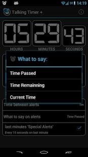 Talking Timer +- screenshot thumbnail