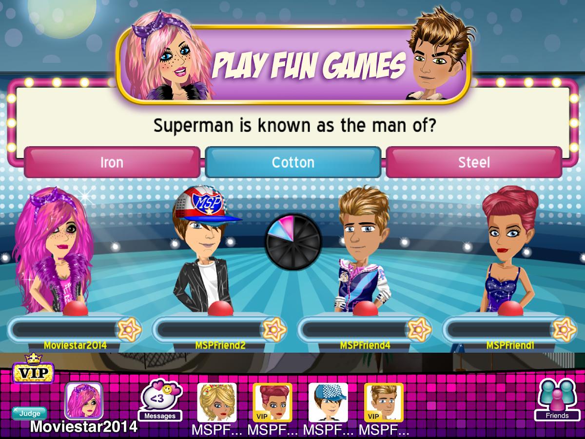 MovieStarPlanet - screenshot