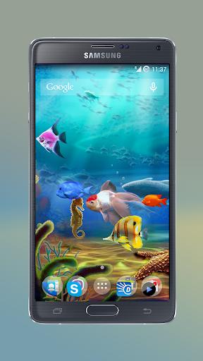 Aquarium Pond Live Wallpaper