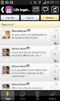Screenshot of Life together : Forum