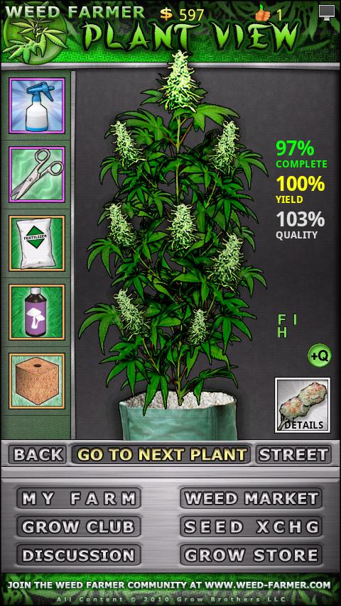 Weed Farmer - screenshot