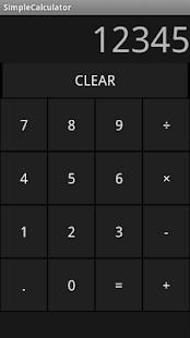 SimpleCalculator