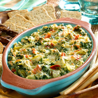 Hot Spinach & Artichoke Dip.