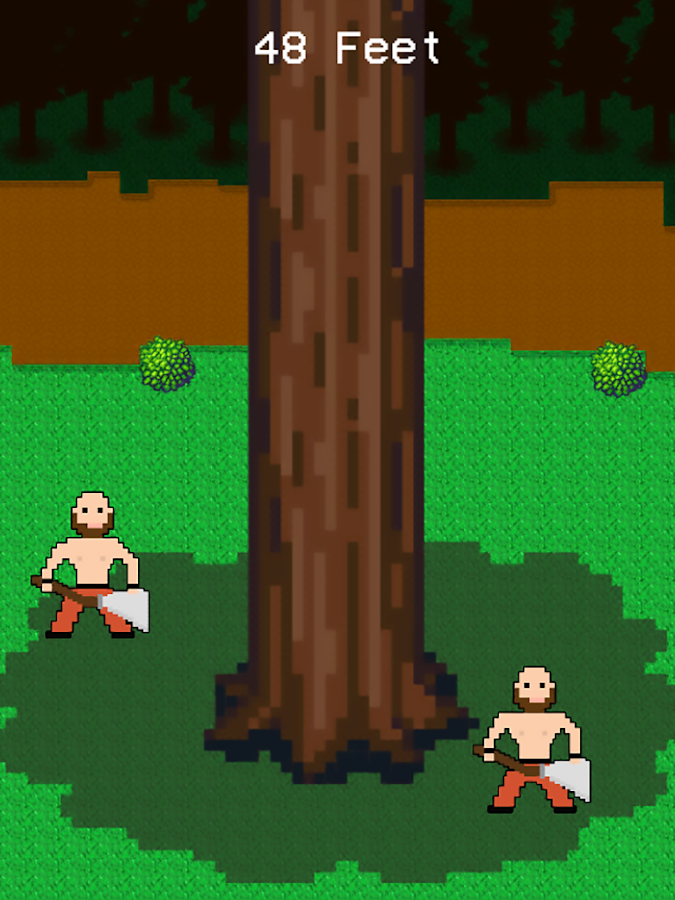 Timbermen vs Tree- screenshot