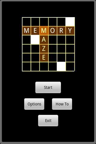 Memory Maze - screenshot