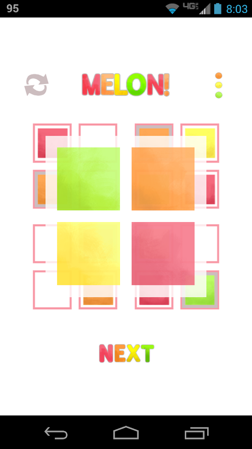 MELON!: A Color Puzzle Game- screenshot