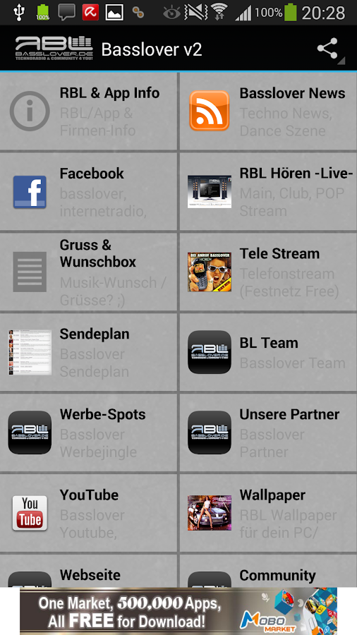 Internet Station Basslover- screenshot