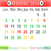Calendario Turnos Facil