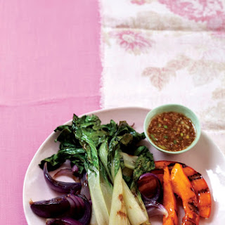 Grilled Vegetables with Miso Sauce