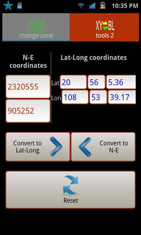 Geo Converter - screenshot