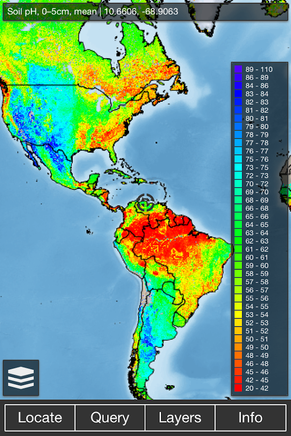 Soilinfo soil data app android apps on google play for 0 4 soil carbon