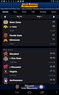 College Basketball Scoreboard+- screenshot thumbnail