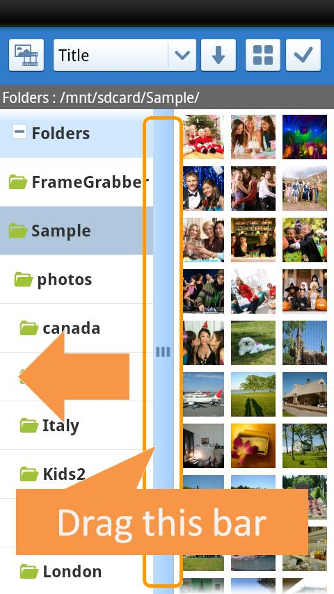 picture manager - screenshot