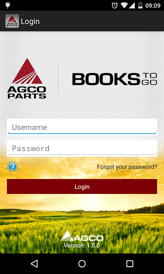 AGCO Parts Books To Go- screenshot