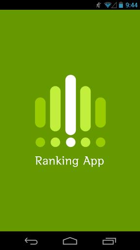 App ranking - Global ranking