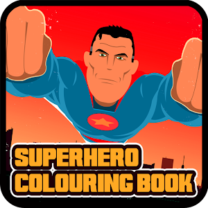 Superhero Coloring Book for PC and MAC