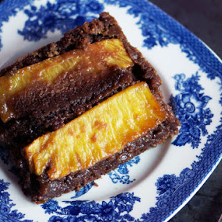 Chocolate-Stout Upside-Down Pineapple Cake